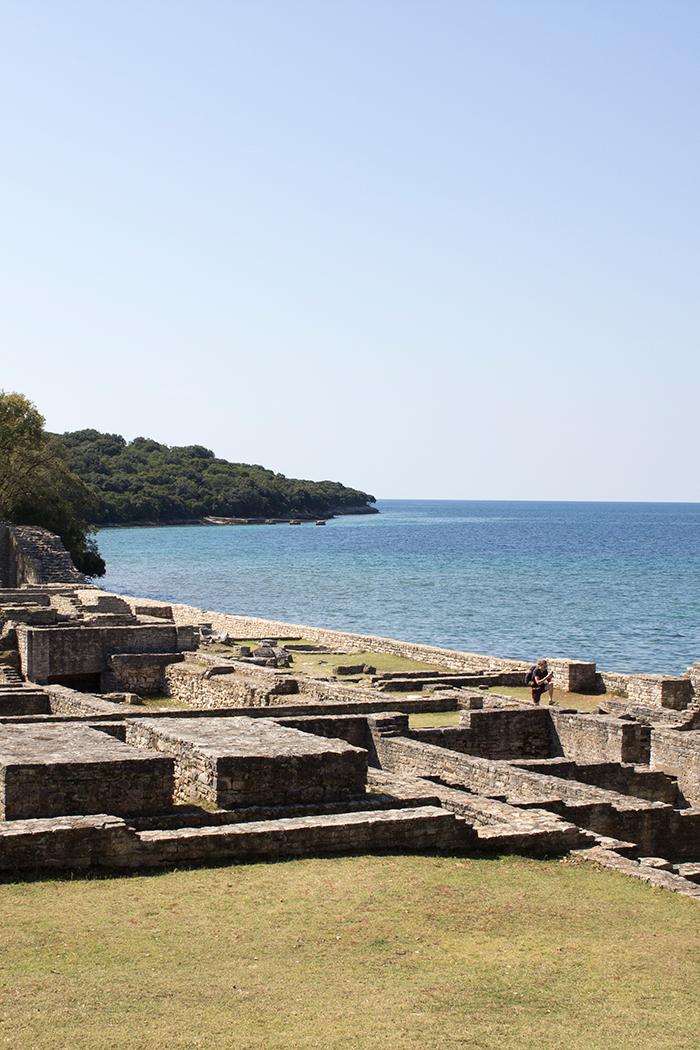 Ruinen am Meer
