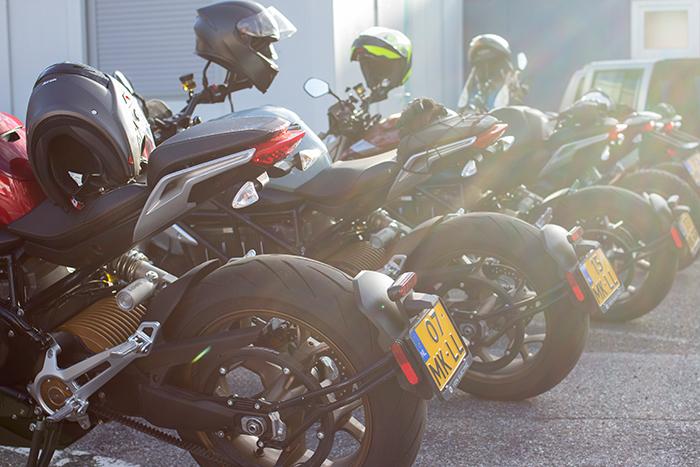 Hinterreifen von E-Motorrädern
