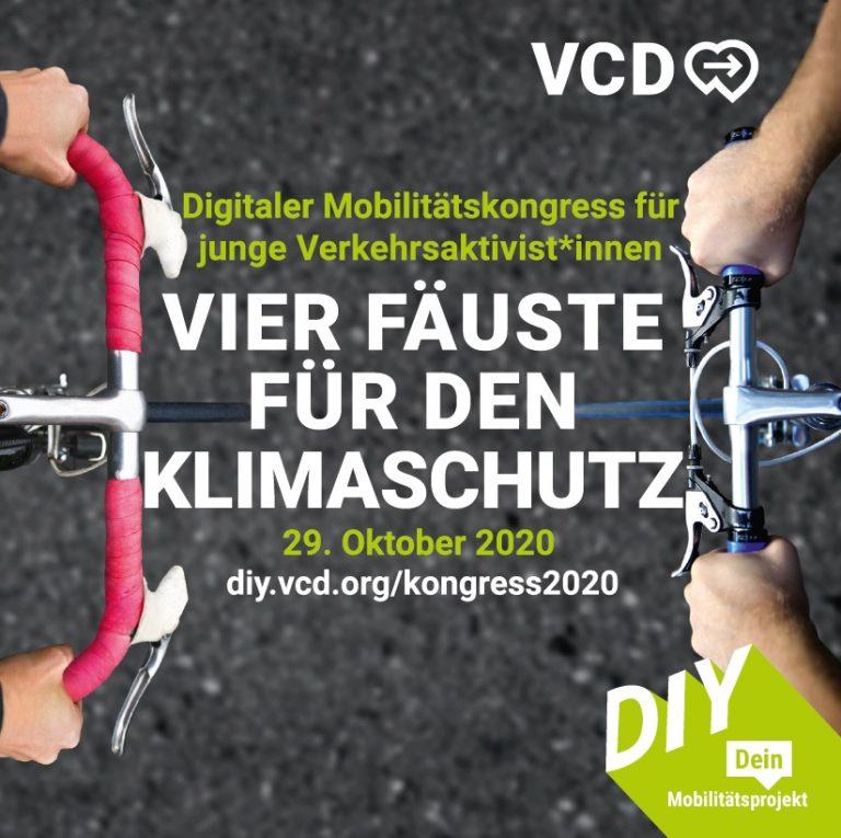 Werbung für den Mobilitätskongress des VCD
