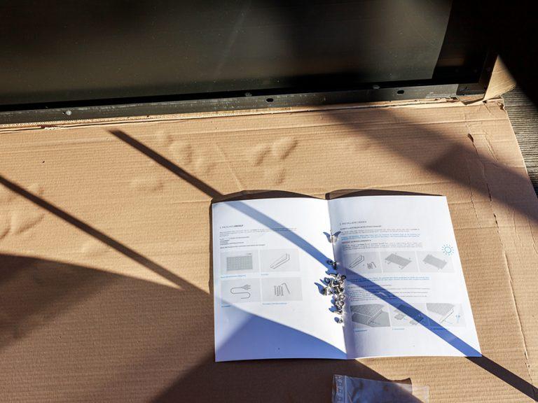Anleitungsheft für den Aufbau der Solaranlage