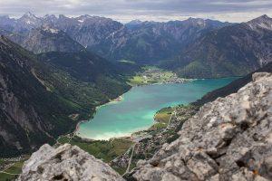 Der Achensee in Tirol von oben