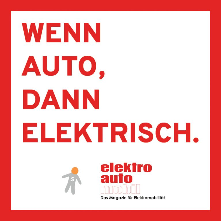 Werbung für das Magazin Elektroautomobil